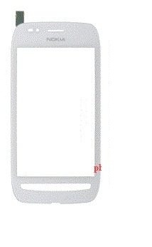 Touch Nokia Lumia 710 Branco Com Aro - 1ª Linha