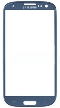 Lente de Vidro Samsung Galaxy S3  Gt-I9300 Azul