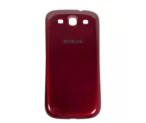 Tampa Traseira Samsung S3 i9300 Vermelha