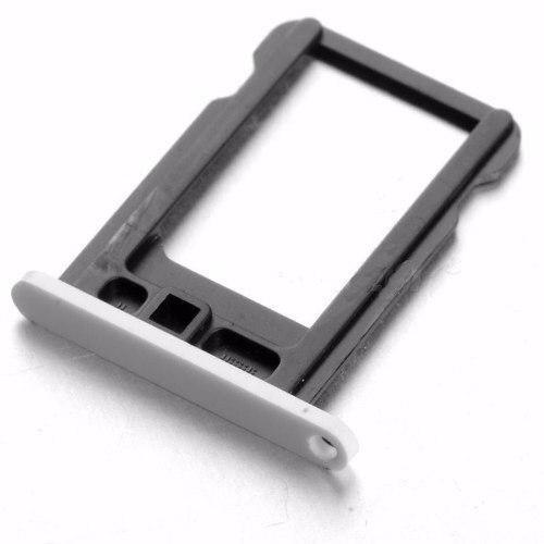 Gaveta Bandeja Chip Nano Sim Card Iphone 5c Branco