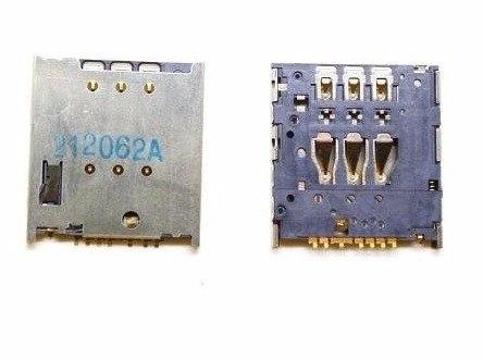 Conector Sim Chip Motorola Moto E  E2 G Xt1523 Xt1514 Soldado