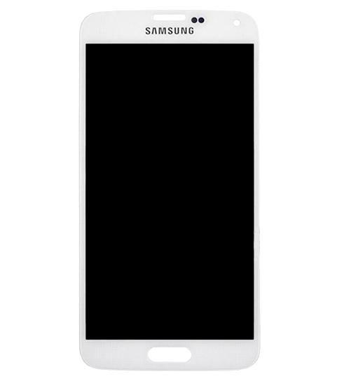 Frontal Samsung Galaxy S5 G900m Branco