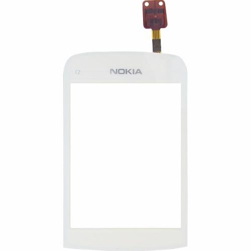 Touch Nokia C2-03 C2-06 Branco - 1ª Linha