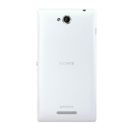 Tampa da Bateria Traseira Sony Xperia C C2304 Branco