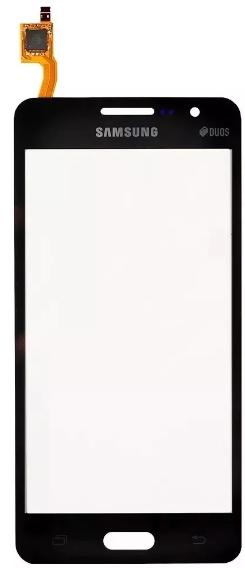 Tela Touch Samsung Gran Prime Duos G531 Grafite / Preto - 1 Linha