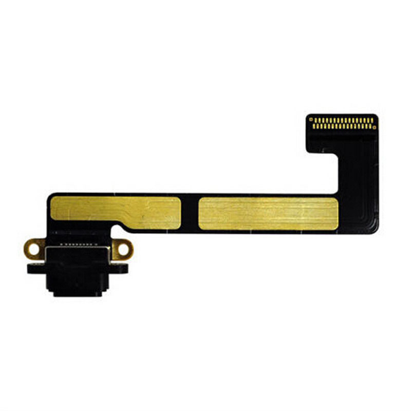 Flex Conector Carga Apple Ipad Mini 2 ou Mini 3 Preto