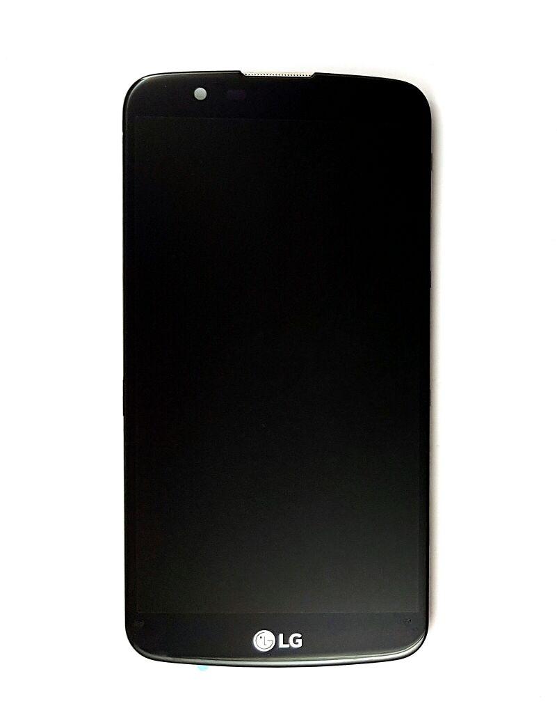 Display Frontal Lg K10 K430 Versao 0.2 TV Preto com Aro 1 Linha Max