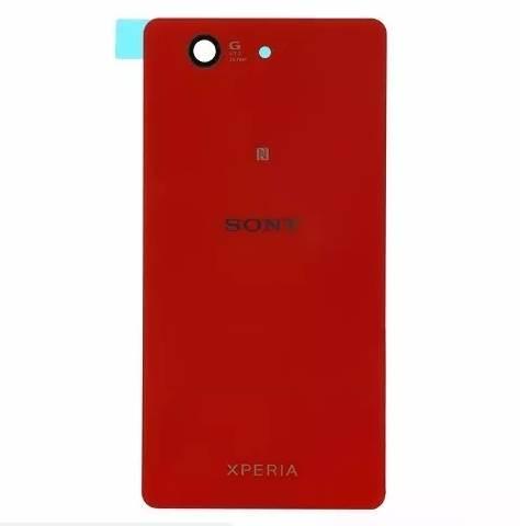 Tampa Traseira Sony Xperia Z3 Compact Mini D5833 D5803 Vermelho