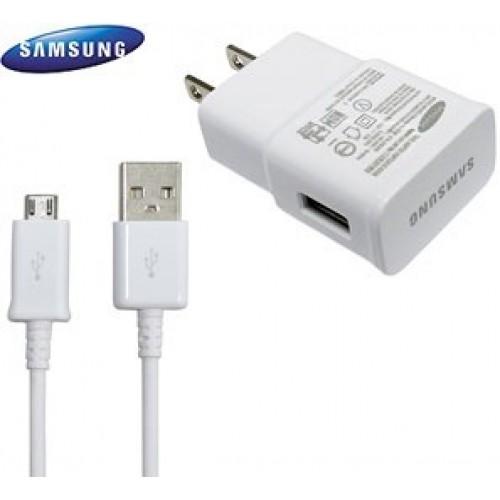 Carregador Samsung Fonte e Usb 2.0 Amperes Branco S4 S5 S6