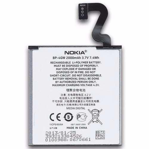 Bateria Nokia Lumia  N720 720 N920 920 BP-4GW Original