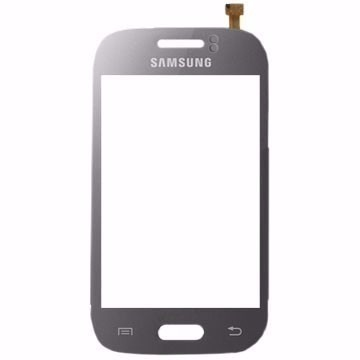 Touch Samsung Young Duos S6312 S6313 S6310 Grafite Cinza - 1 Linha