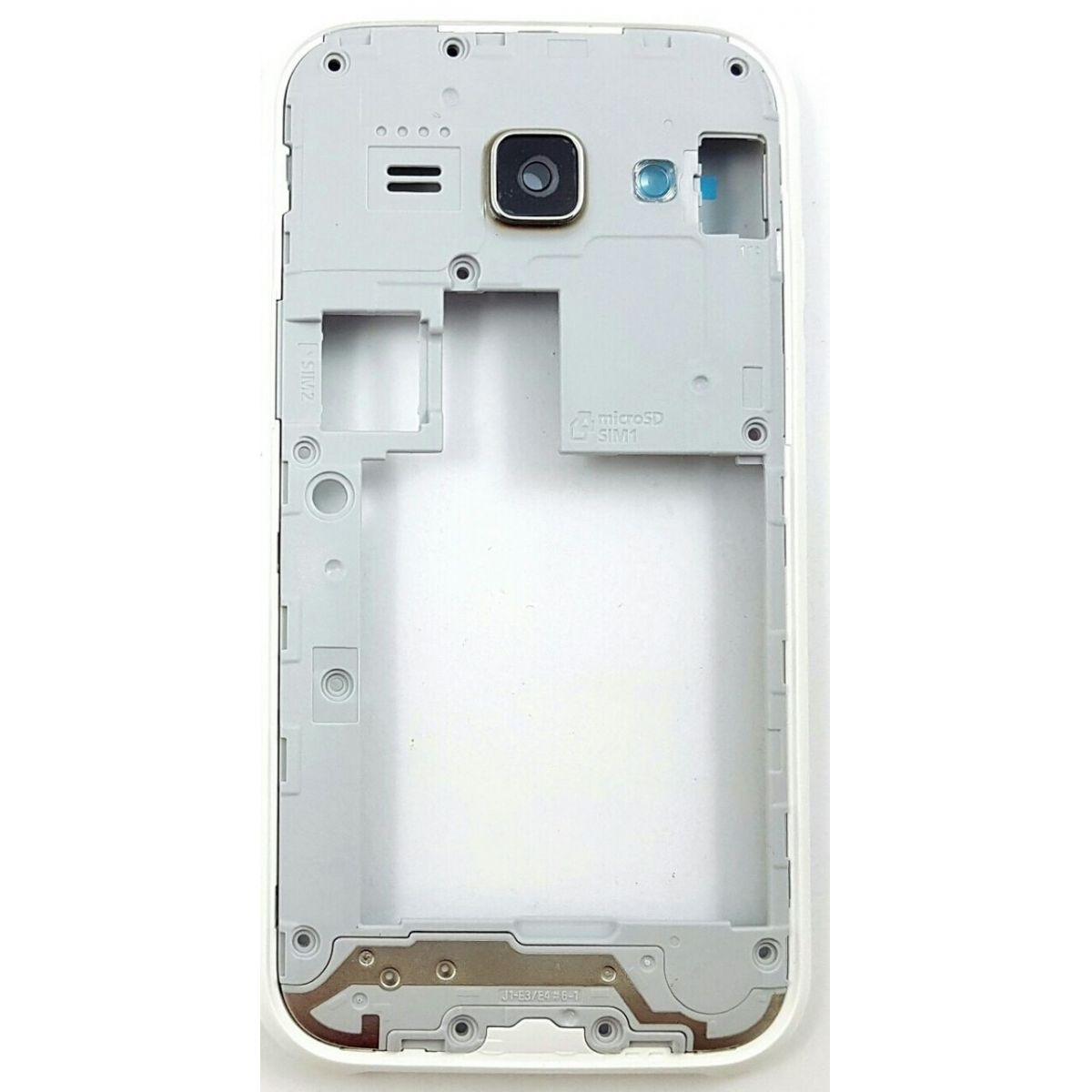 Carcaça Aro Samsung J1 Ace J110 Branco