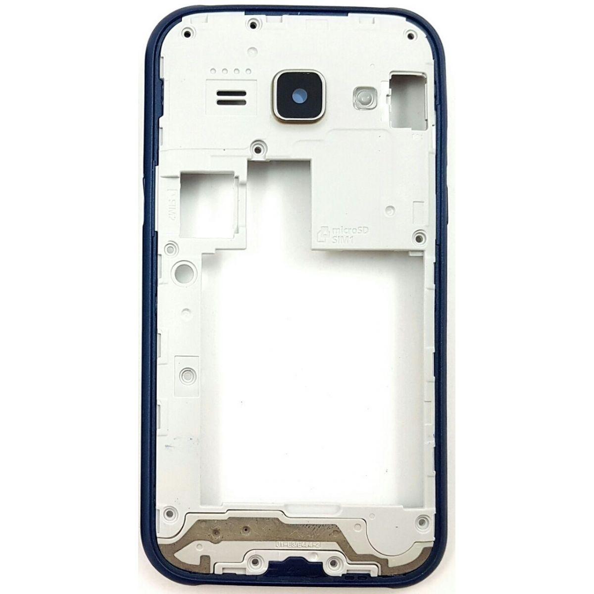 Carcaça com Aro Samsung  J1 Ace J110 Azul