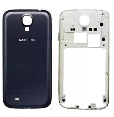 Carcaca com Tampa Samsung S4 4g Gt-i9505 Completo Dual Sim Grafite