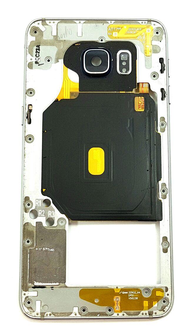 Aro Carcaça S6 Edge Plus SM G928 Azul Original Retirado com Detalhes