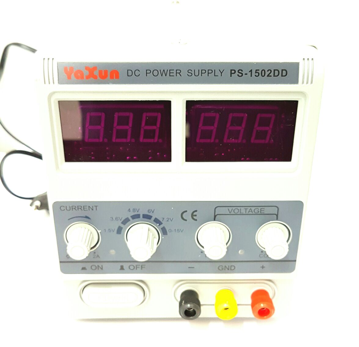 Fonte de Alimentação Reguladora Digital Yazun 0-15V 2A PS-1502DD 220V