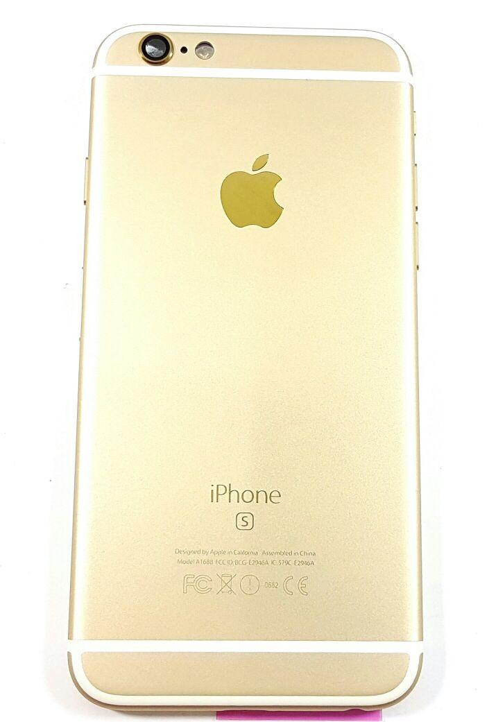 Carcaça Completa Flex Iphone 6S Dourada