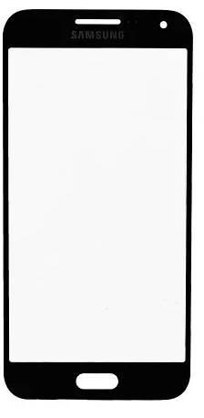 Lente Vidro Samsung E5 SM-E500 Preto Colado Uv