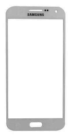Lente Vidro Samsung E5 SM-E500 Branco UV