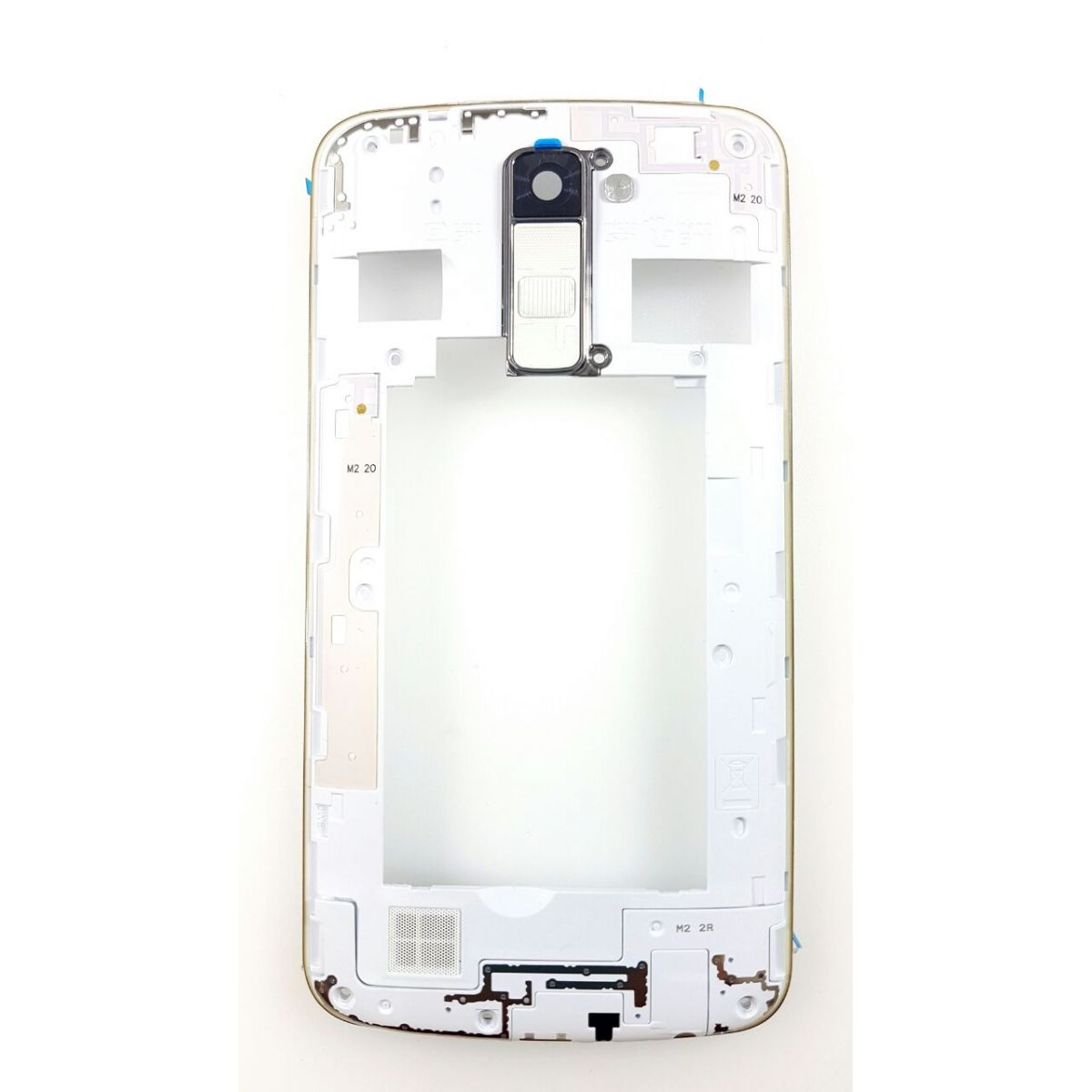 Carcaça Flex Power LG K10 K430 Branco