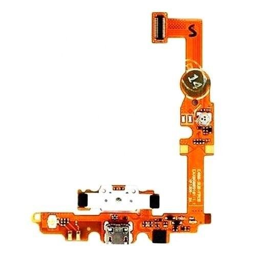 Cabo Flex Conector Carga Usb Microfone Lg L5 Ii E450 E460 1 Linha
