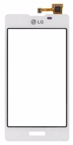 Touch LG Optimus L5 2 E450 E460 Branco - 1 Linha