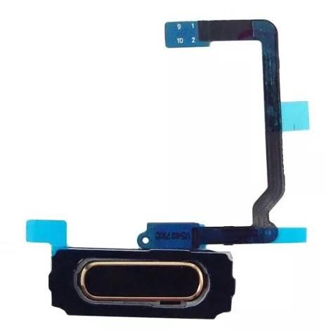 Flex Botão Home S5 G900 Dourado