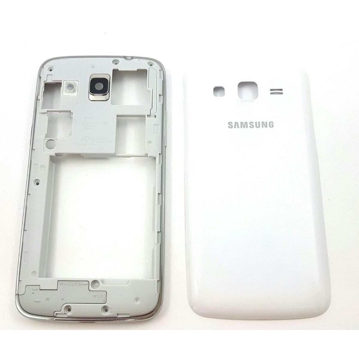 Carcaça Samsung S3 Slim SM-G3812 3812 Branco
