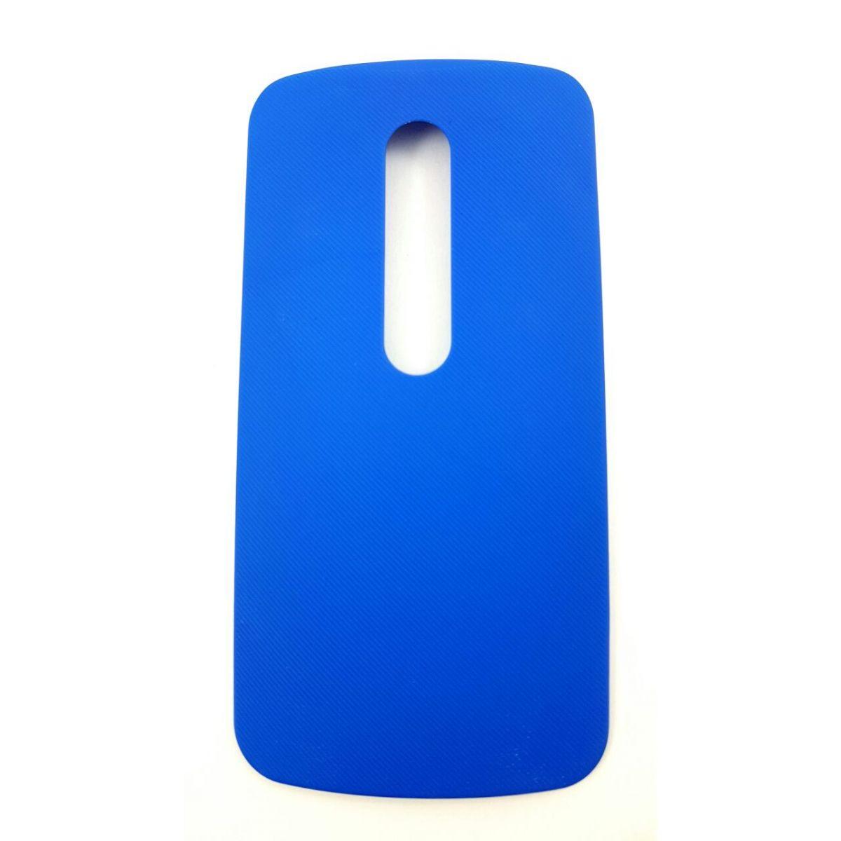 Tampa Traseira Motorola Moto G3 Xt1543 Xt1544 Azul