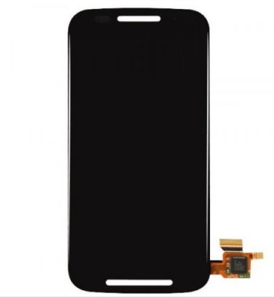 Display Frontal Moto E XT1022 XT1025 Preto Com Aro