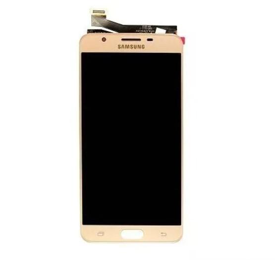 Frontal Samsung J7 Prime SM-G610M 5.5 Dourado - 1 Linha