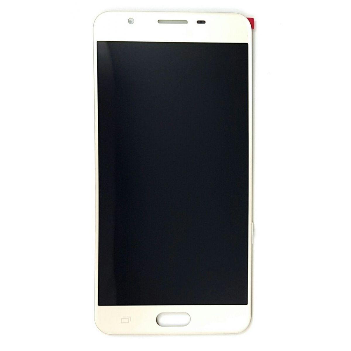 Frontal Samsung J7 Prime SM-G610M 5.5 Branco sem Aro 1 Linha