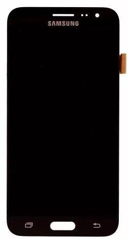 Frontal Samsung J3 SM-J320 Preto 1 Linha