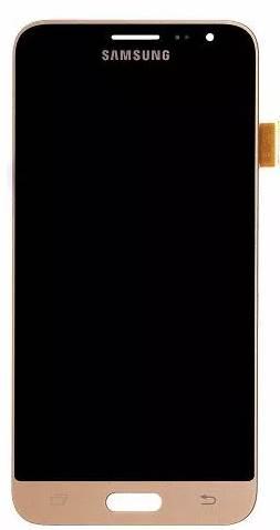 Frontal Samsung J3 SM-J320 J300 Dourado 1 Linha
