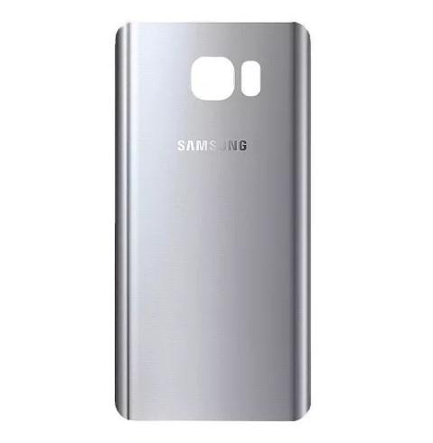 Tampa da Bateria Samsung Note 5 N920 Prata Silver