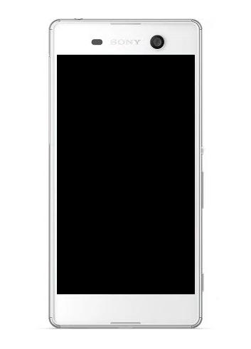 Frontal Sony M5 E5603 E5606 E5653 1 Chip Branco com Aro Original