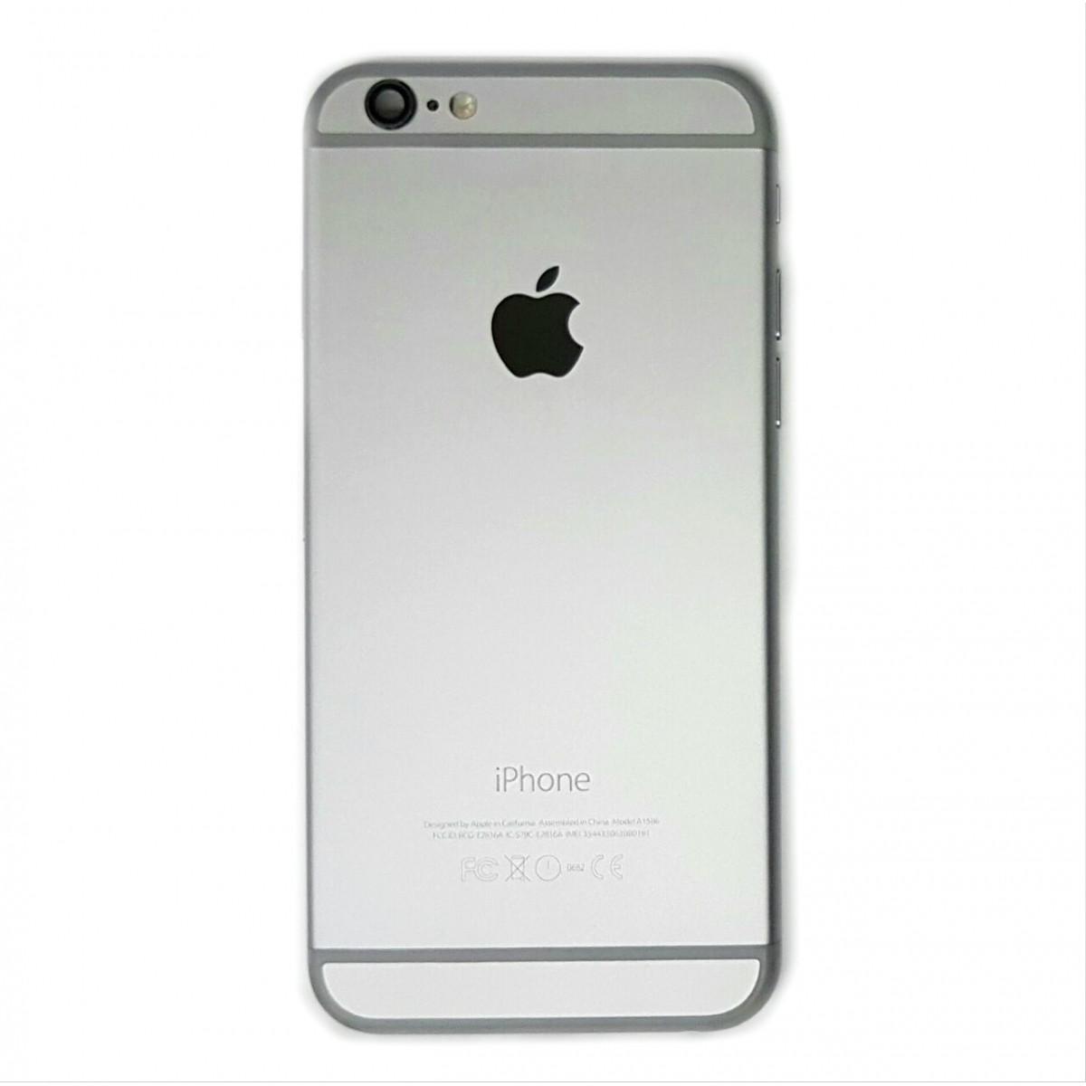 Carcaca Iphone 6G 4.7 Cinza Espacial Acompanha Flex e Componentes