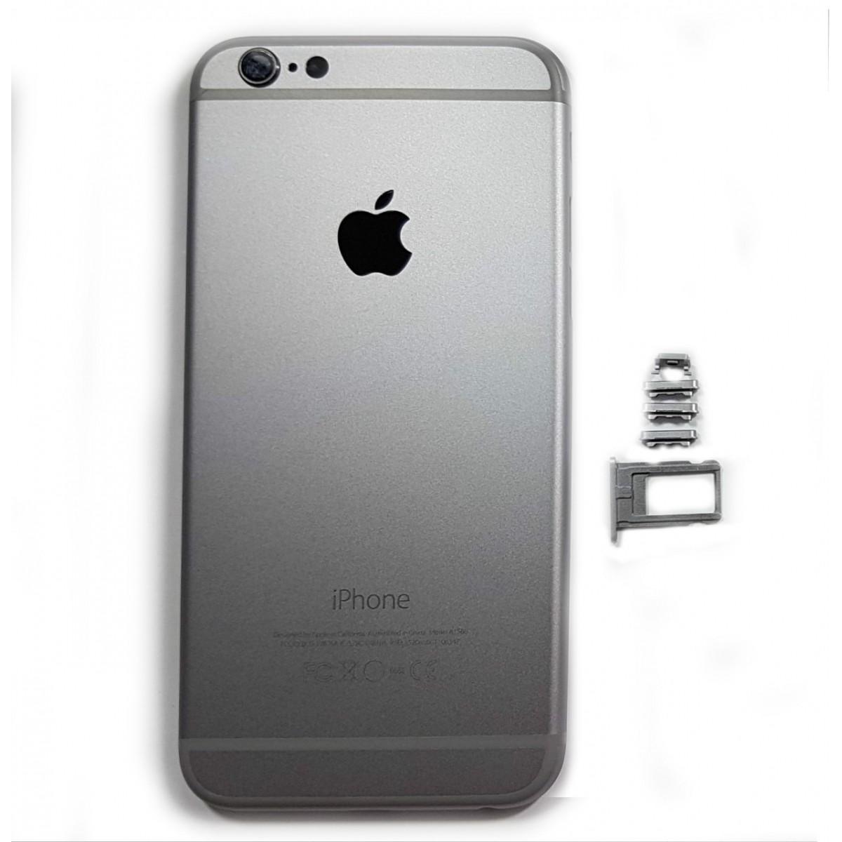 Carcaça Iphone 6G 4.7 Preto Nao Acompanha Componentes