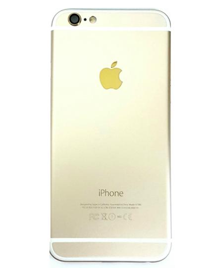 Carcaca Iphone 6G 4.7 Dourado Gold sem Componentes