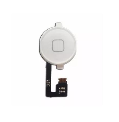 Flex Botao Home Iphone 4G Branco