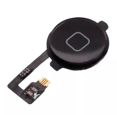 Flex Botão Home Iphone 4G Preto