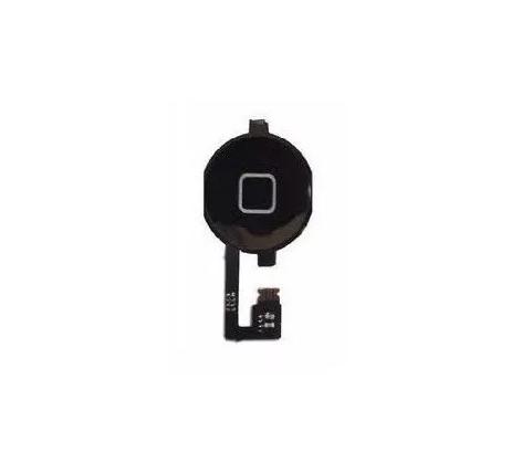 Flex Botão Home Apple Iphone 4S Preto