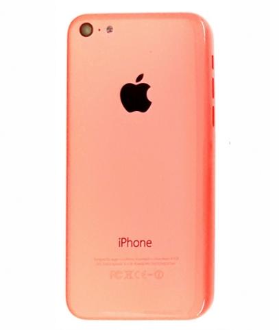 Carcaça Apple Iphone 5C Rosa sem Flex