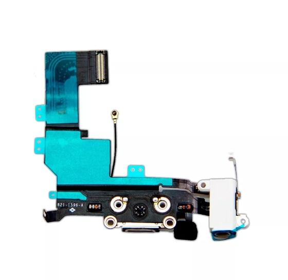 Flex Conector De Carga Microfone P2 Apple Iphone Se A1723 Branco