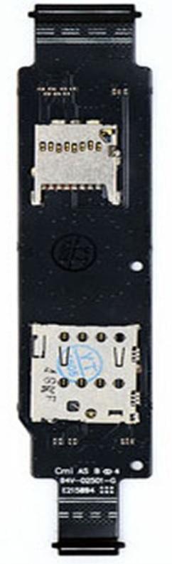 Placa Sim 1 Asus Zenfone 2 ZE500CL 1 Chip