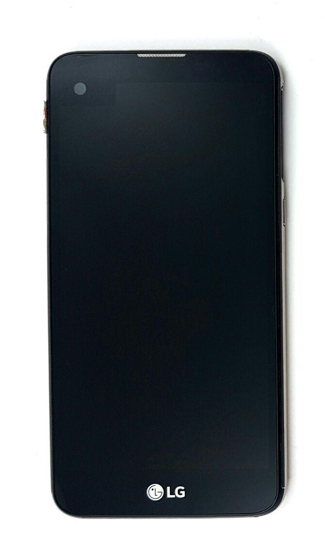 Display Frontal LG X Screen K500 K500DFS Preto com Aro