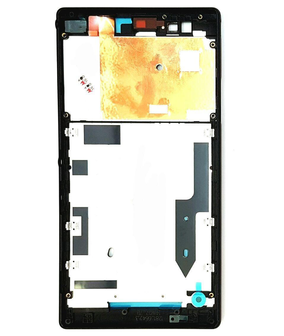 Carcaça Completa Aro Sony T2 Preto