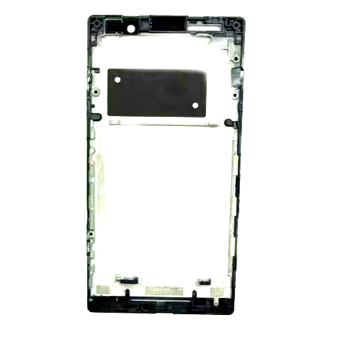 Carcaça Gabinete Frontal Sony Xperia C C2304 Preto