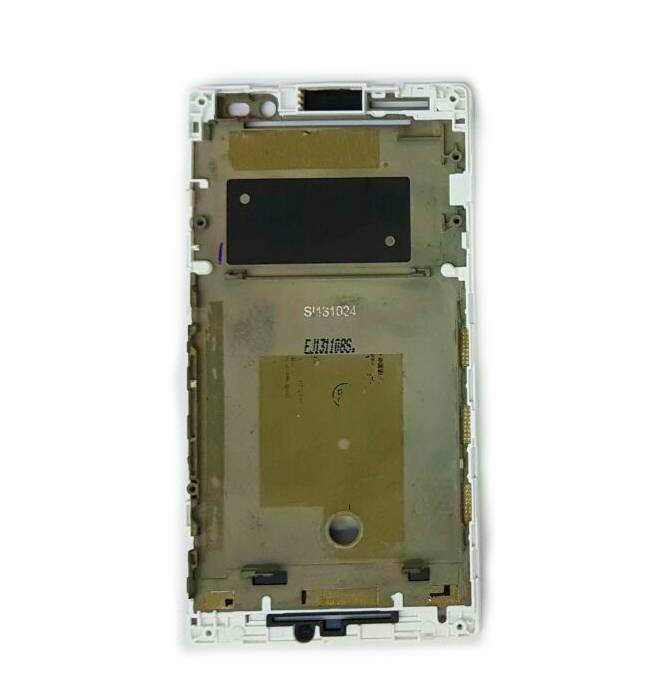 Carcaça Gabinete Frontal Sony Xperia C C2304 Branco