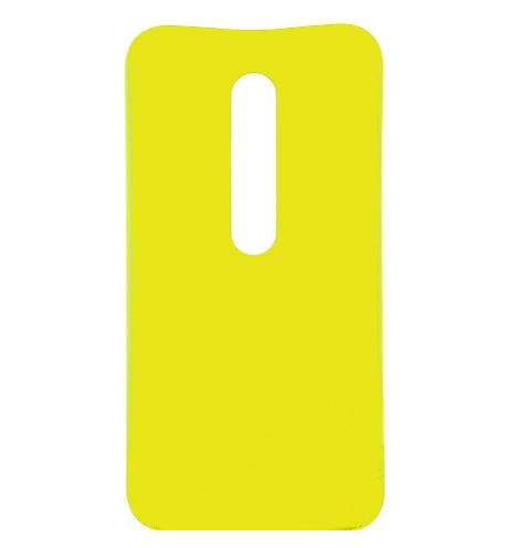 Tampa Traseira Motorola Moto G3 XT1543 Amarelo